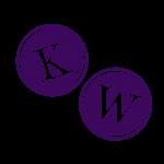 Kriss Writes logo - KW