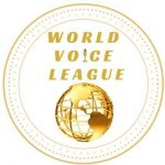 Circular emblam of the World Voice League